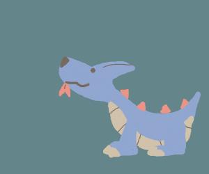 Adorable dragon puppy