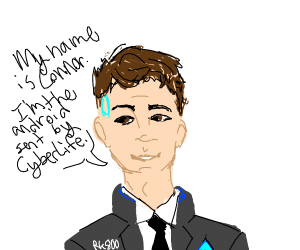 The android sent by cyberlife