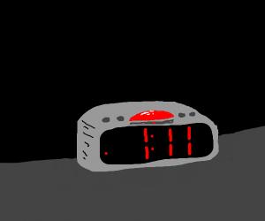 it's 1:11 am