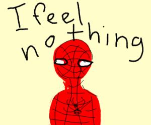 apathetic Spiderman