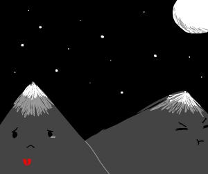 heartbroken mountain
