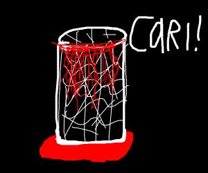 Bloody bin