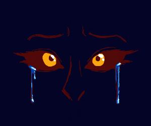 Crying evil eyes