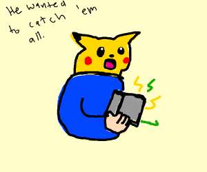 Guy playing pokemon and breaking his gameboy