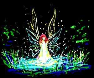 Realistic magical fairy's