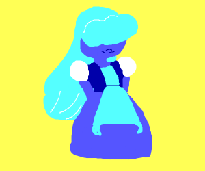 i thought it was sapphire but- SU oc??