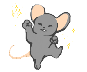 mouse just enjoying life