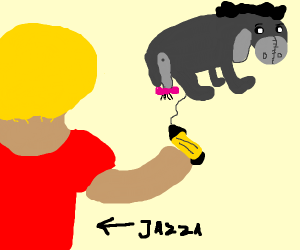 jazza draws an eeyore