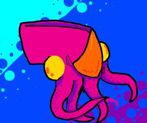 Rino squid