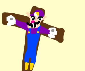 waigi on the cross