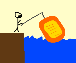Fishing for a Raft