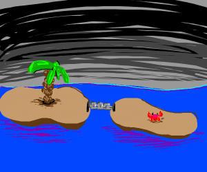 Islands chained together