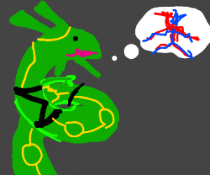 rayquaza thinking about deoxys
