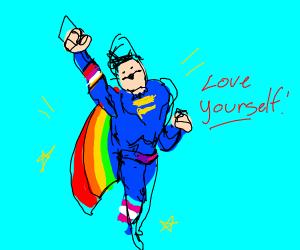 Pride superhero