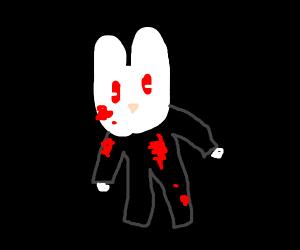 scary bunny man