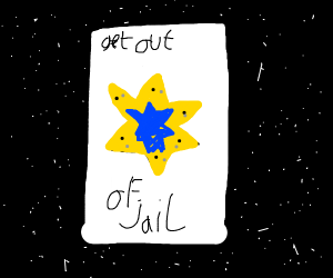 Do get out of jail free cards work officer?