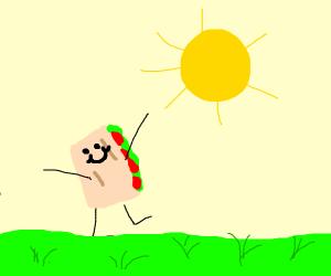 Happy lil burrito