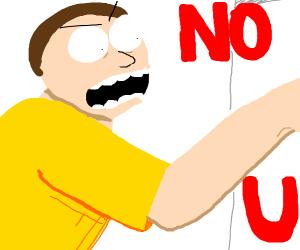 """Morty says """"No u"""""""