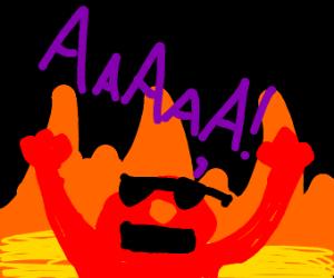 Radical Elmo says AAAAAAA!