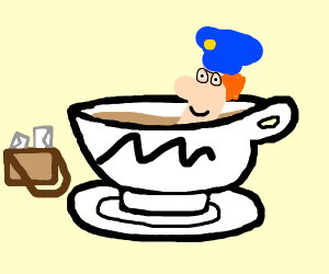 Mailman in a Teacup