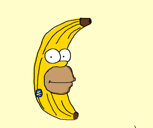 homer is a banana