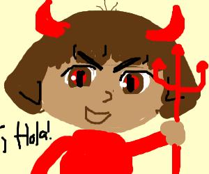 Dora the Explorer es Satanico Diablio!