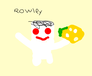 Rowley has the cheese touch