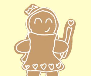 Gingerbread queen