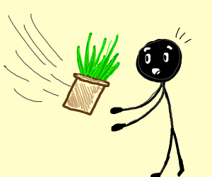 Catching a Plant