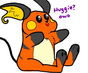 Raichu wants a hug :3
