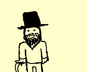 Man from the 1800s
