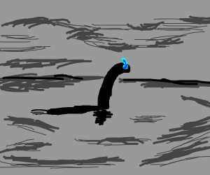 the loch ness monster is Sans?!?!