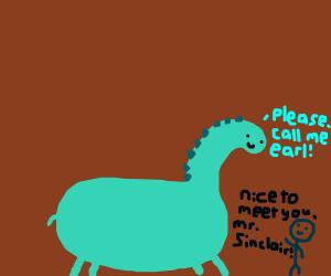 Earl Sinclair the Dinosaur
