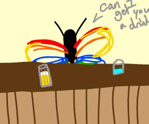 butterfly barman