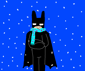 The Dark Knight is cold
