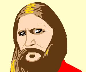 Rasputin... But with hair