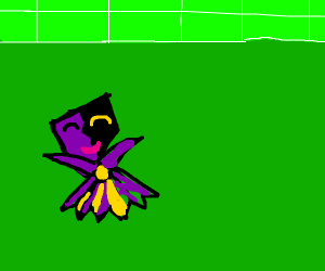 whats under dimentio's mask?
