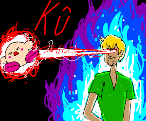 Blonde Shaggy kills Kirby