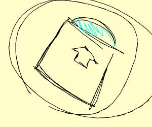 circle inside a box inside a circle