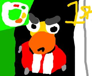 duck racing!!