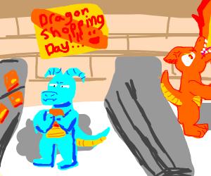 Dragon Shopping Day