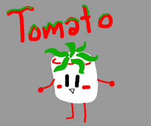 Marshmello but a tomato