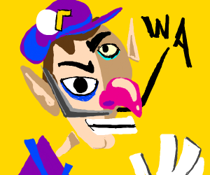 abstract waluigi