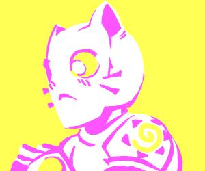 An adorable cat