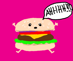 screaming burger