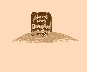 drawception d's gravestone
