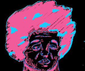 Cotton Candy Afro