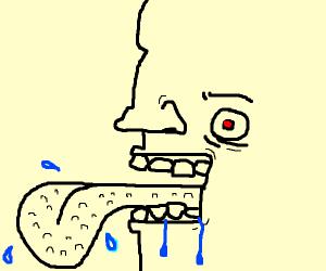 Bumpy tounge