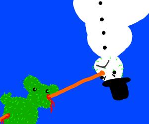 cactus vs snowman