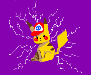 pokemon with a hat